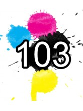 103 Epson Ink Cartridges Compatible x 5