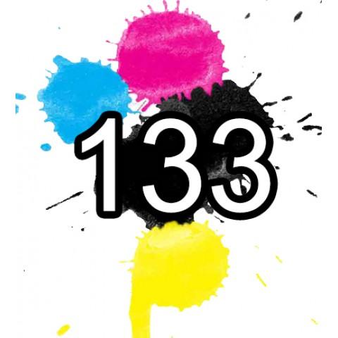 133 Epson Ink Cartridges Compatible x 5