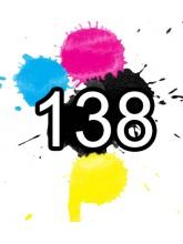 138 Epson Ink Cartridges Compatible x 5