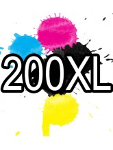 200XL Epson Ink Cartridge Compatible x 5