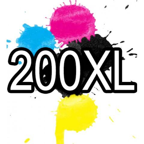 200XL Epson Ink Cartridge Compatible x 5