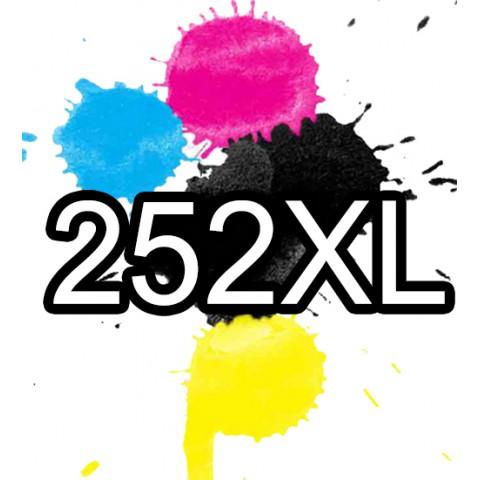 252XL Epson Ink Cartridge Compatible x 5