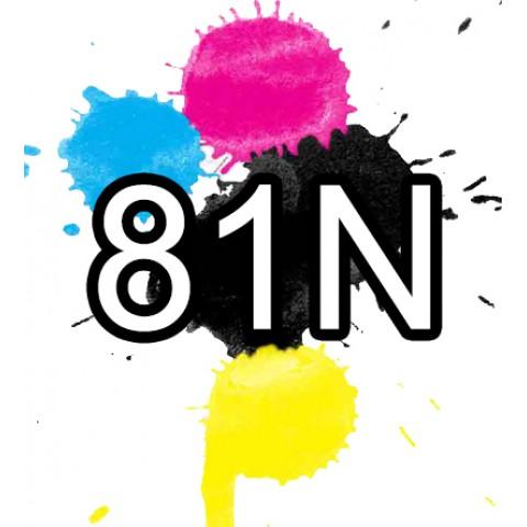 81N Epson Ink Cartridges Compatible x 6