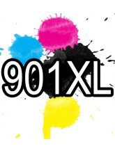 HP 901XL Black and Colour Ink Cartridges