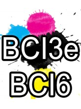 BCI3e BCI6 Canon Ink Cartridges Compatible x 5