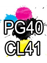 PG40 CL41 Canon Ink Cartridges Remanufactured