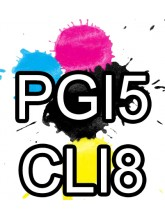 PGI 5 CLI 8 Canon Ink Cartridges Compatible x 5